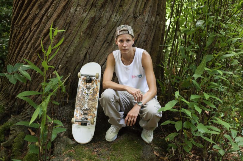 d875bc7e6f9 Lucy is a pro skater for Lovenskate